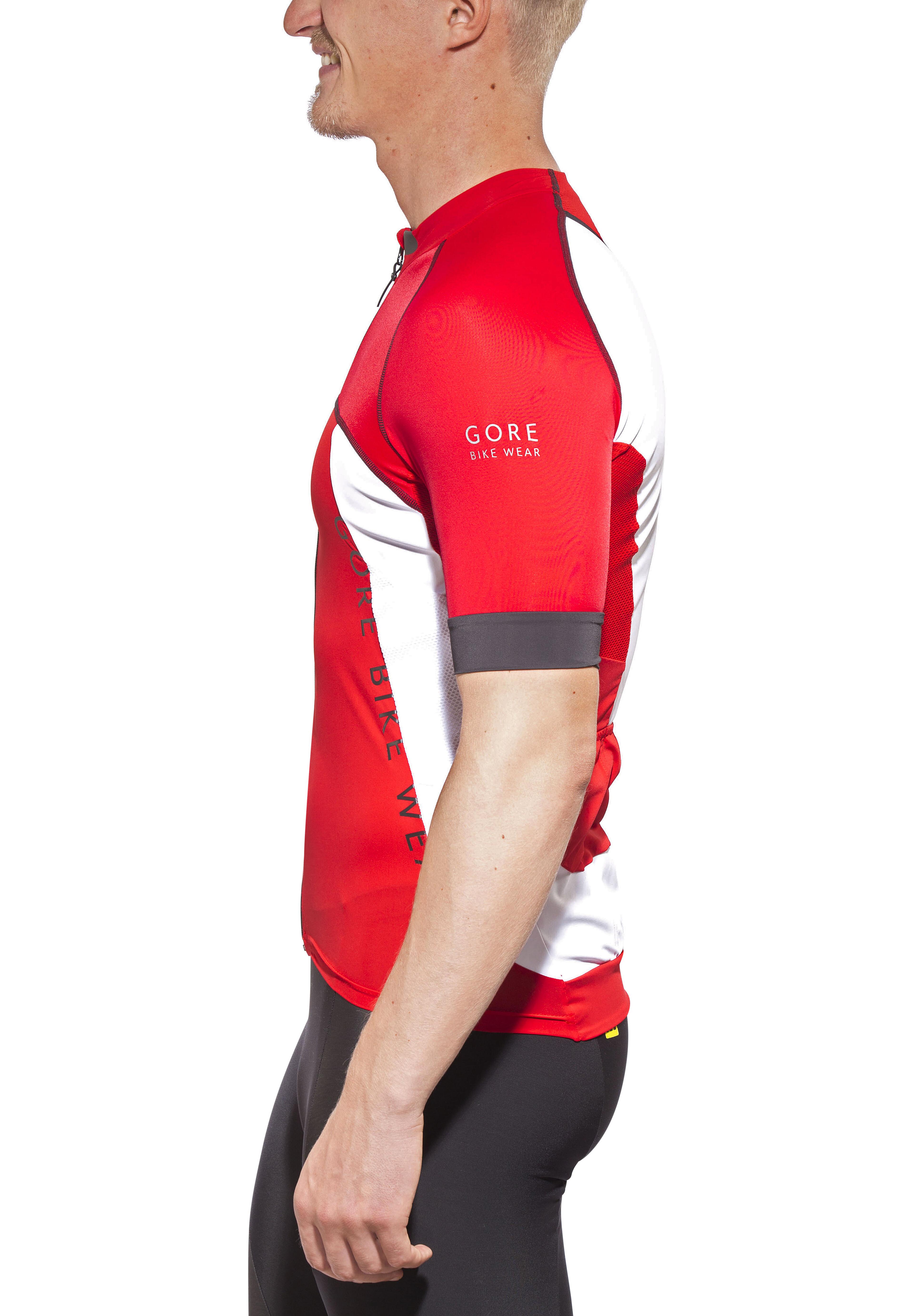 a01cbbc13e8a GORE BIKE WEAR Alp-X Pro Jersey Uomo, red/white su Bikester